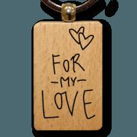 houten-sleutelhanger-lokwinske-nl-24-for-my-love