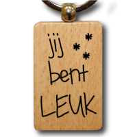 houten-sleutelhanger-lokwinske-nl-25-jij-bent-leuk