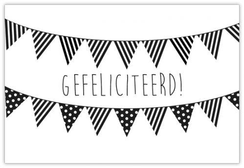 lokwinske-nl-wenskaarten-zwart-wit-015-gefeliciteerd
