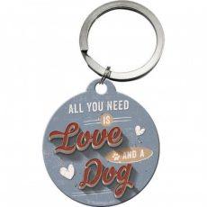 sleutelhanger-key-chain-nostalgic-art-lokwinske-nl-all-you-need-is-love-and-a-dog